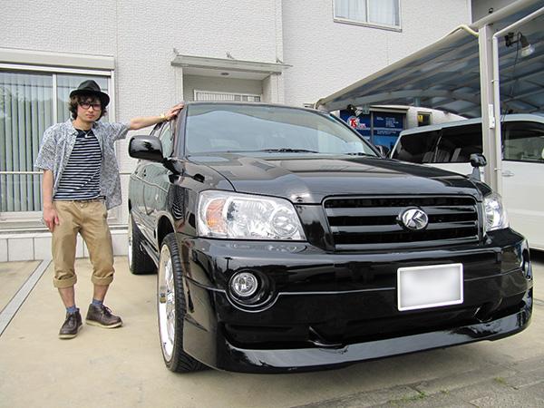 トヨタ クルーガーL 3.0S 4WD H16年車