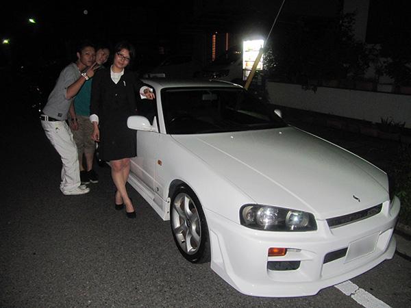 ニッサン スカイライン 2.5Gターボ H10年車