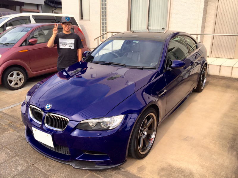 BMW  M3 平成 20年式 ブルーメタリック(限定カラー) 6速マニュアル