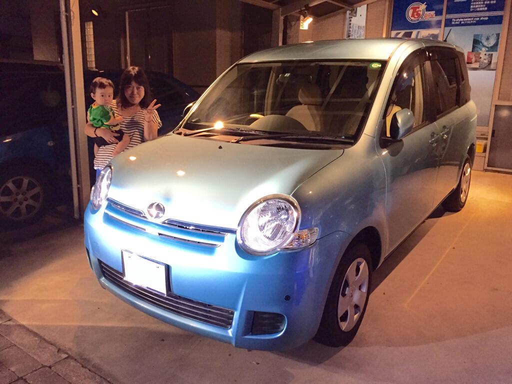 トヨタ シエンタG  平成22年式 29000キロ