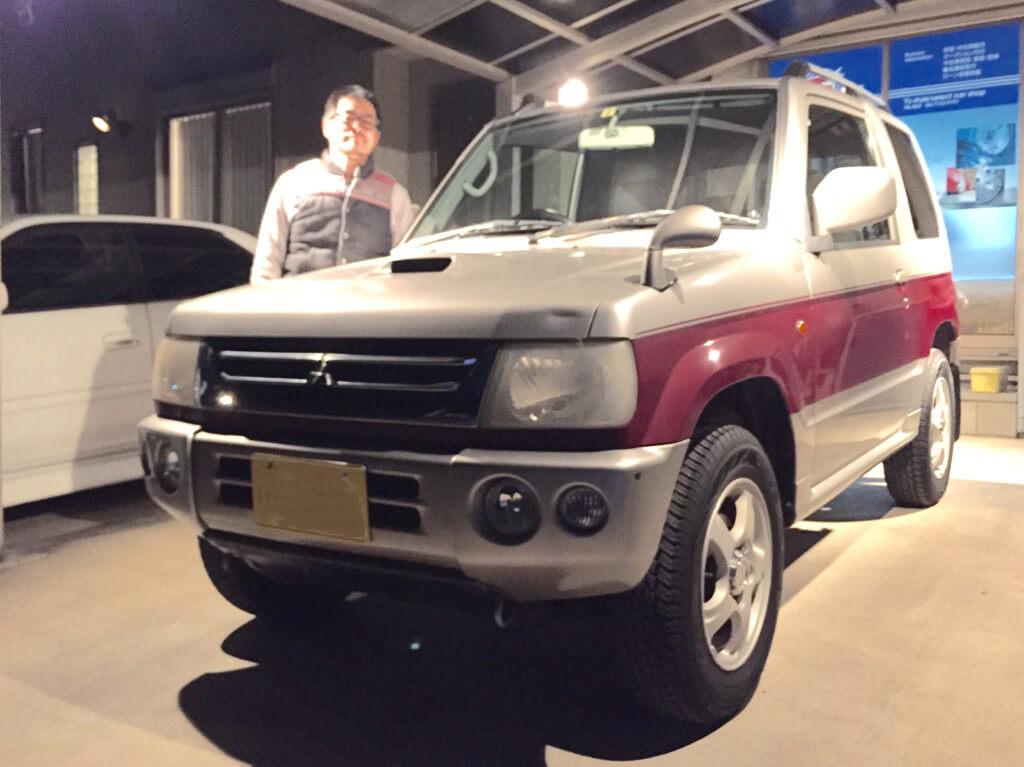 三菱 パジェロミニ ターボ 平成12年式