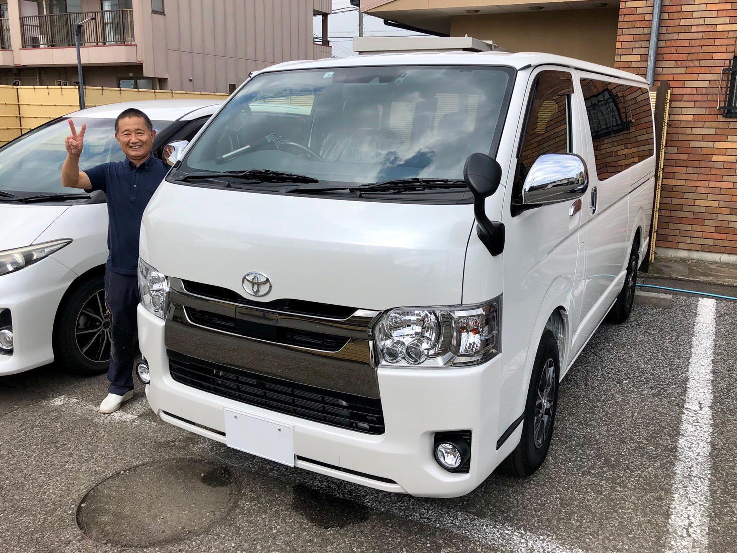 トヨタ ハイエースV スーパーGL ダークプライム2  令和1年式(新車)